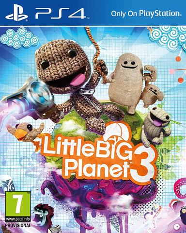 Little Big Planet 3 (PS4) - GameShop Malaysia