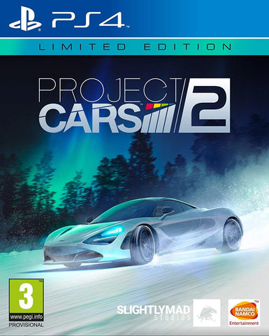 Project Cars 2 Limited SteelBook Edition (PS4) - GameShop Malaysia