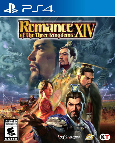 Romance of the Three Kingdoms XIV (PS4) - GameShop Malaysia