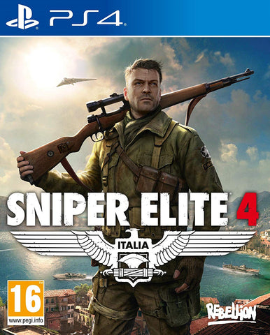 Sniper Elite 4 (PS4) - GameShop Malaysia