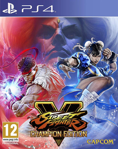 Street Fighter V Champion Edition (PS4) - GameShop Malaysia