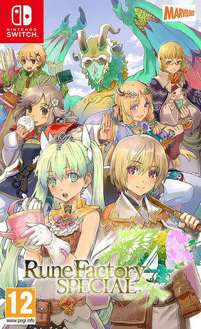 Rune Factory 4 Special (Nintendo Switch) - GameShop Malaysia