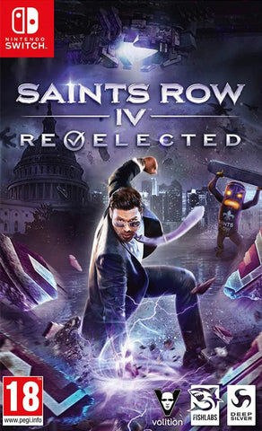 Saints Row IV: Re-Elected (Nintendo Switch) - GameShop Malaysia