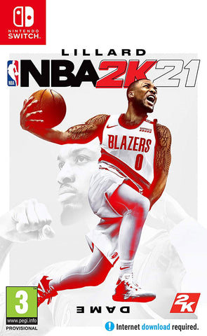 NBA 2K21 (Nintendo Switch/Asia) - GameShop Malaysia