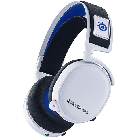 SteelSeries Arctis 7P Wireless Gaming Headset for PS5, PS4 White - GameShop Malaysia