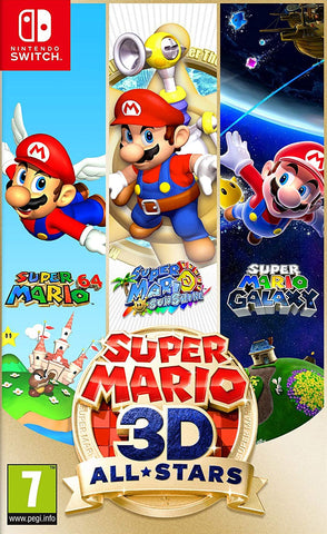 Super Mario 3D All-Stars (Nintendo Switch) - GameShop Malaysia