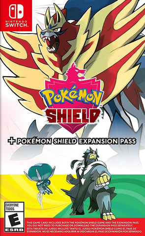 Pokemon Shield + Pokemon Shield Expansion Pass (Nintendo Switch) - GameShop Malaysia
