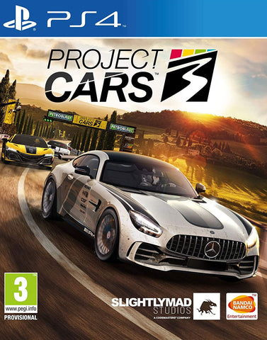 Project Cars 3 (PS4/Asia) - GameShop Malaysia