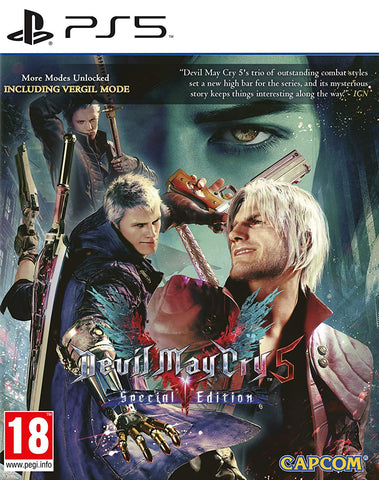 Devil May Cry 5 Special Edition (PS5) - GameShop Malaysia