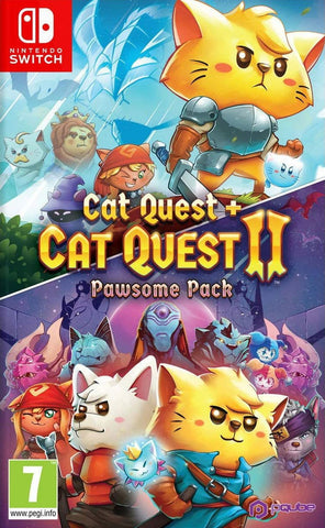 Cat Quest & Cat Quest II: Pawsome Pack (Nintendo Switch) - GameShop Malaysia