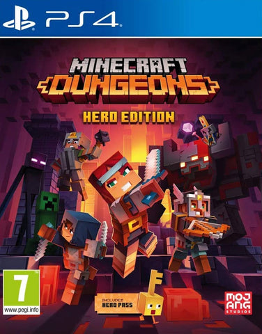 Minecraft Dungeons Hero Edition (PS4) - GameShop Malaysia