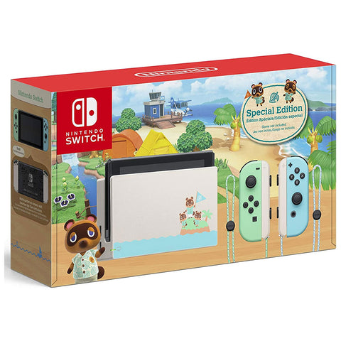 Nintendo Switch Console Animal Crossing New Horizon Special Edition - GameShop Malaysia
