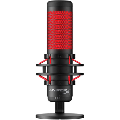 HyperX QuadCast USB Condenser Gaming Microphone for PS4, PC, and Mac - GameShop Malaysia