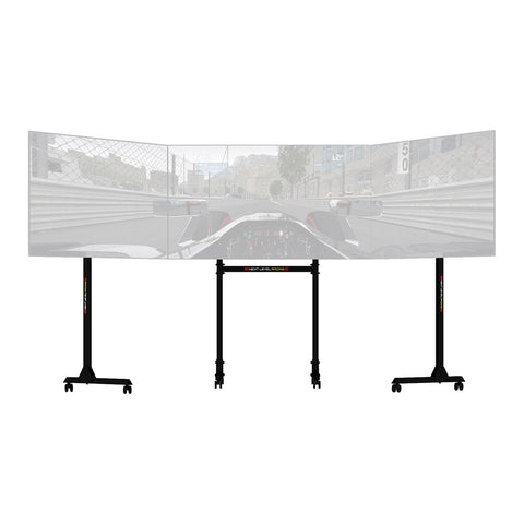Next Level Racing Free Standing Triple Monitor Stand - GameShop Malaysia