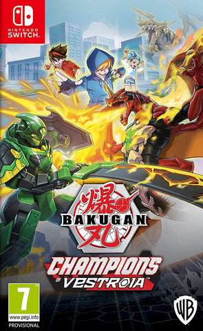 Bakugan Champions Of Vestroia (Nintendo Switch) - GameShop Malaysia