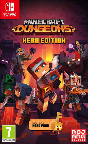 Minecraft Dungeons Hero Edition (Nintendo Switch) - GameShop Malaysia
