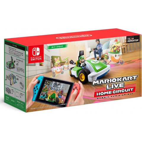 Mario Kart Live Home Circuit Luigi (Nintendo Switch/Japan) - GameShop Malaysia