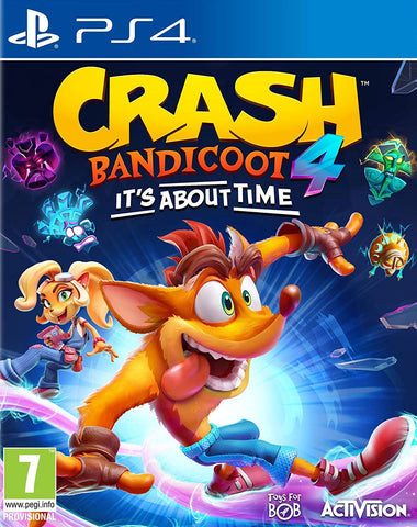 Crash Bandicoot 4 It's About Time (PS4) - GameShop Malaysia