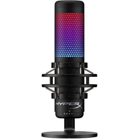 HyperX QuadCast S RGB USB Condenser Microphone for PC, PS4 and Mac - GameShop Malaysia