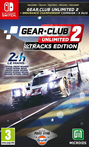 Gear Club Unlimited 2 Tracks Edition (Nintendo Switch) - GameShop Malaysia