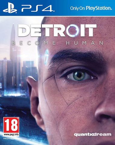 Detroit Become Human (PS4) - GameShop Malaysia