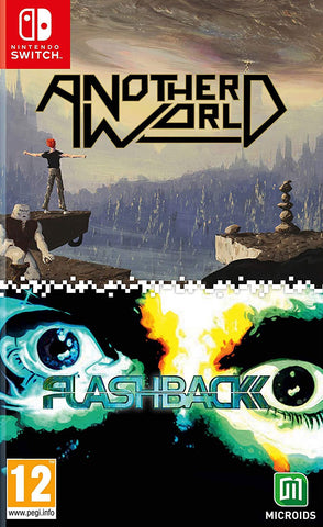 Another World & Flashback Double Pack (Nintendo Switch) - GameShop Malaysia