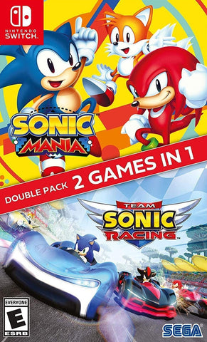 Sonic Mania + Team Sonic Racing Double Pack (Nintendo Switch) - GameShop Malaysia