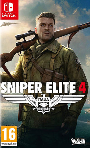 Sniper Elite 4 (Nintendo Switch) - GameShop Malaysia