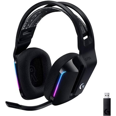 Logitech G733 Wireless Gaming Headset for PC and PS4 - GameShop Malaysia
