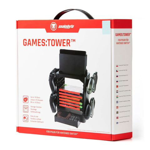 Snakebyte Games Tower for Nintendo Switch - GameShop Malaysia