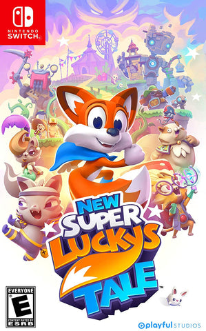 New Super Lucky's Tale (Switch) - GameShop Malaysia