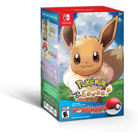 Pokemon: Let's Go, Eevee! + Poke Ball Plus Pack (Switch)