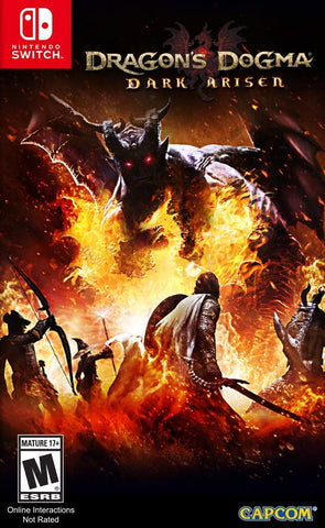 Dragon's Dogma: Dark Arisen (Switch) - GameShop Malaysia