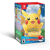 Pokemon: Let's Go Pikachu + Poke Ball Plus Pack (Switch) - GameShop Malaysia