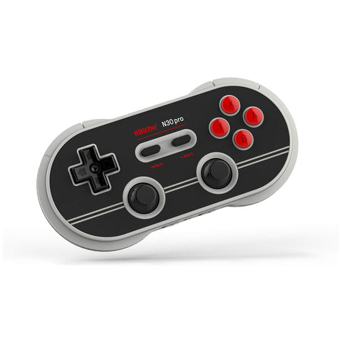 8Bitdo N30 Pro2 Bluetooth Gamepad N Edition for Switch, PC, MAC and Android - GameShop Malaysia