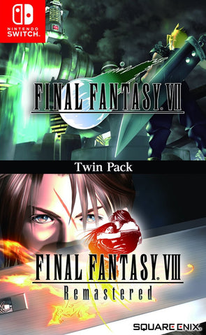 Final Fantasy VII & Final Fantasy VIII Remastered Twin Pack (Switch) - GameShop Malaysia