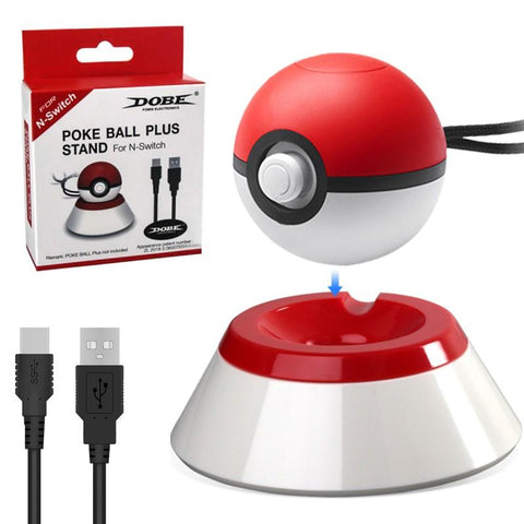 Dobe Pokeball Plus Charging Stand - GameShop Malaysia