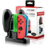 Dobe Charging Dock for Nintendo Switch Joy-Con & Pro Controllers - GameShop Malaysia