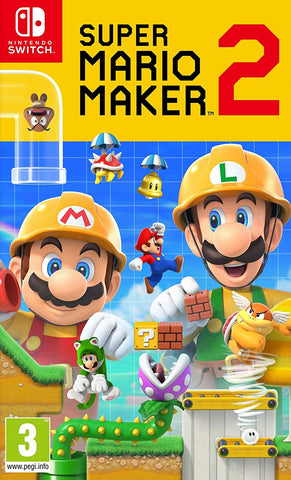 Super Mario Maker 2 (Switch) - GameShop Malaysia