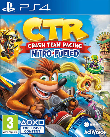 Crash Team Racing Nitro-Fueled (PS4) - GameShop Malaysia