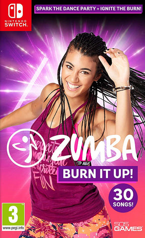 Zumba Burn It Up (Nintendo Switch) - GameShop Malaysia
