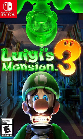 Luigi's Mansion 3 (Switch) - GameShop Malaysia