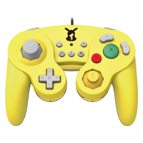 Hori Battle Pad Wired Controller for Nintendo Switch Pikachu - GameShop Malaysia