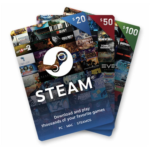 Steam Wallet Card SGD10 - GameShop Malaysia