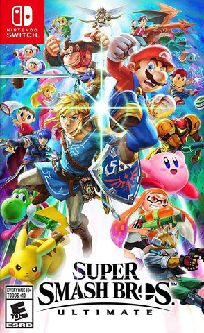 Super Smash Bros. Ultimate (Nintendo Switch) - GameShop Malaysia
