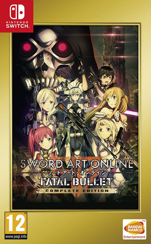 Sword Art Online: Fatal Bullet (Switch) - GameShop Malaysia