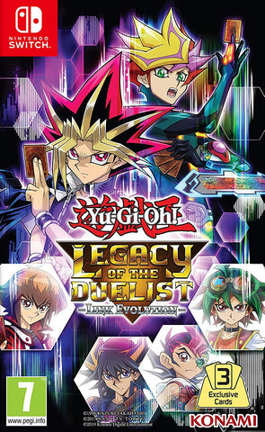 Yu-Gi-Oh! Legacy of the Duelist: Link Evolution (Switch) - GameShop Malaysia