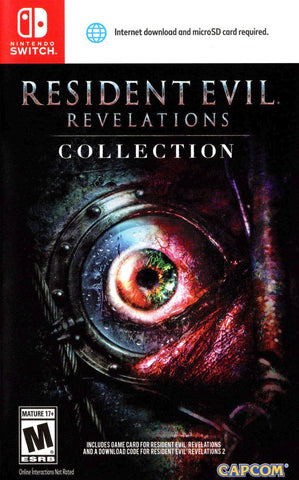 Resident Evil: Revelations Collection (Switch) - GameShop Malaysia