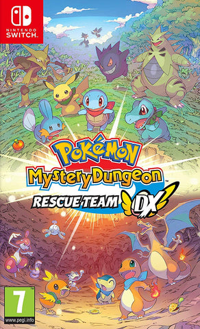Pokemon Mystery Dungeon Rescue Team DX (Nintendo Switch) - GameShop Malaysia