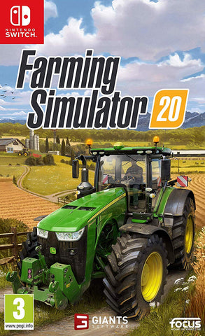 Farming Simulator 20 (Nintendo Switch) - GameShop Malaysia